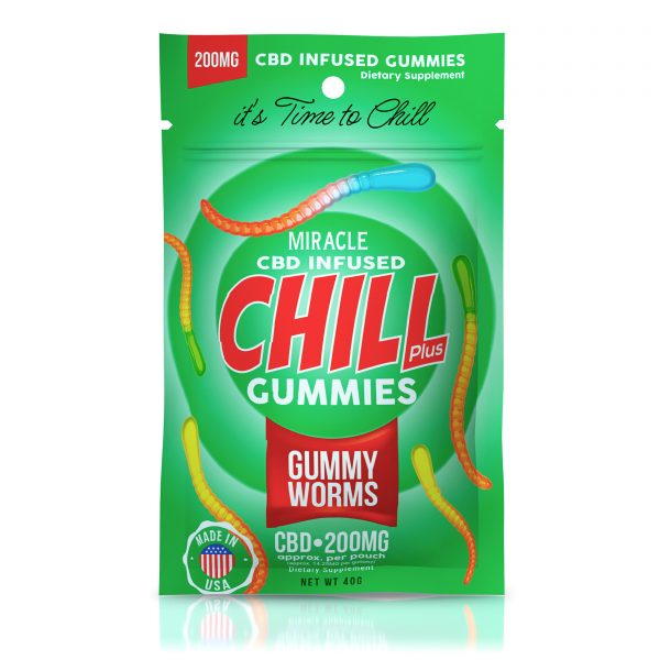 Miracle Chill Plus Gummies - CBD Infused Gummy Worms