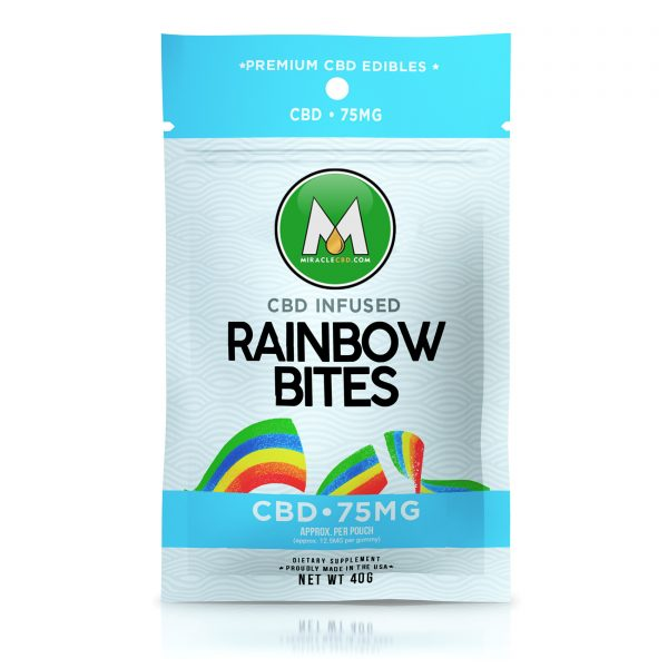 Miracle CBD Gummies - Infused Rainbow Bites