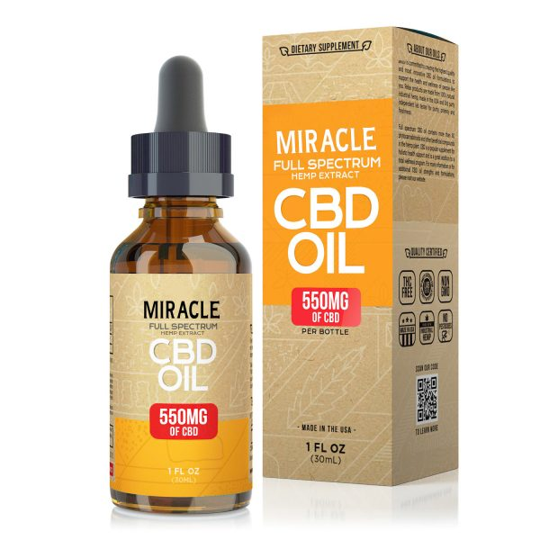 Miracle Full Spectrum CBD Oil